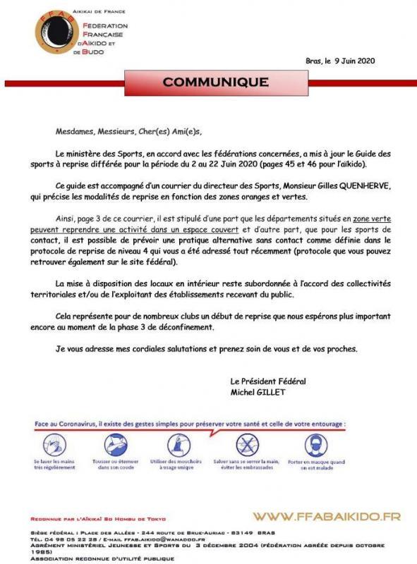 Communique 09 06 2020